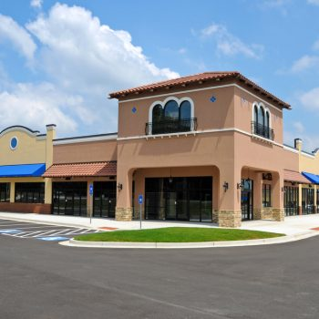 Generic,new,shopping,center